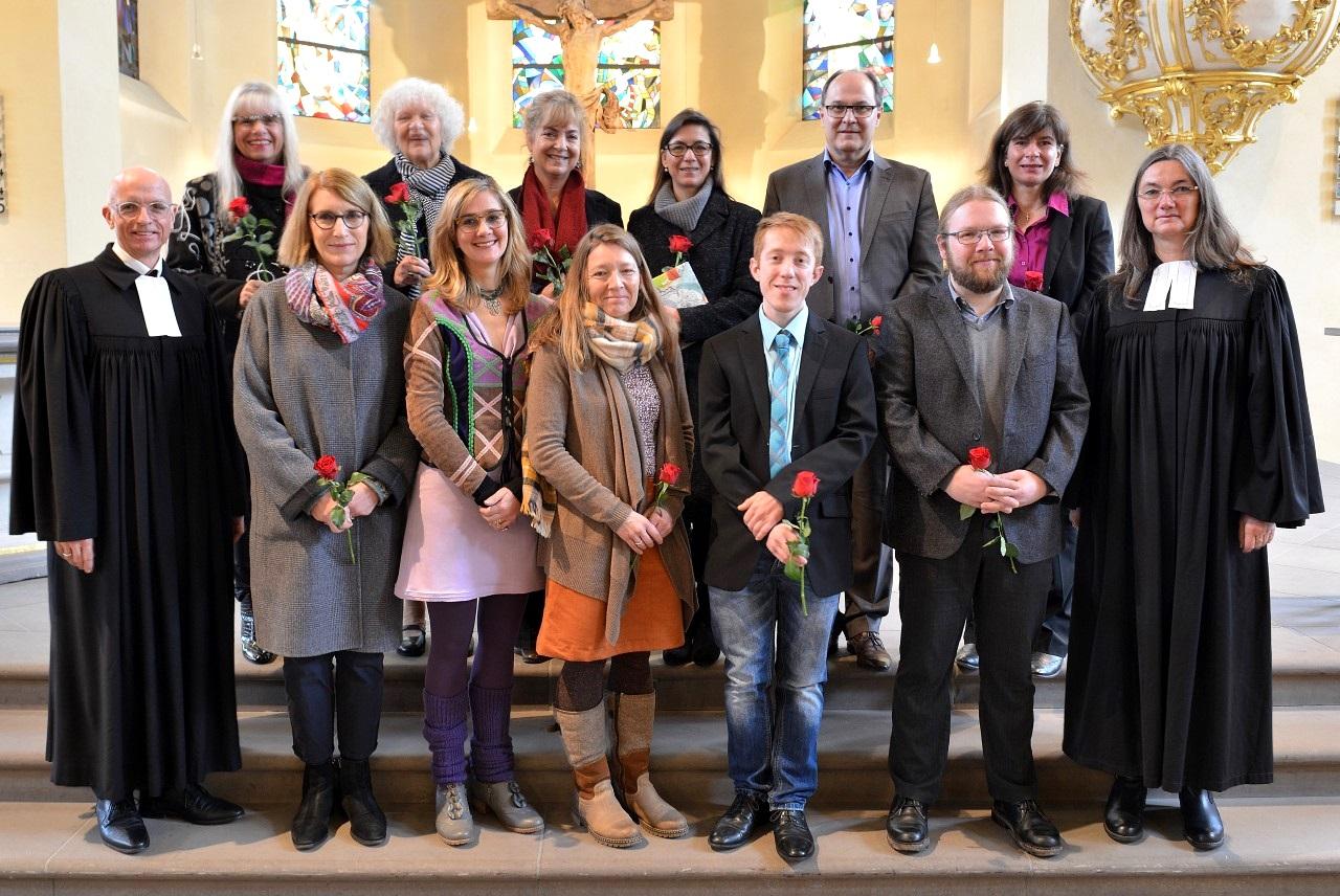 Einführung der Kirchenältesten am 12.01.2020